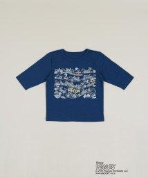 SHIPS KIDS/SHIPS KIDS:スヌーピー 7分袖 TEE 2018SS(80~90cm)/500705646