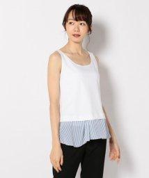 iCB/【洗える】Stripe Combi タンクトップ/500706563