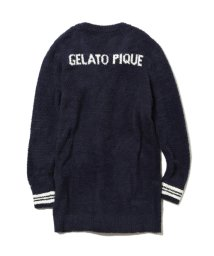 gelato pique/【TVドラマ着用】ベビモコ'ロゴカーディガン/500708347