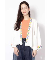 ROSE BUD/フラワー刺繍ジャケット/500707108