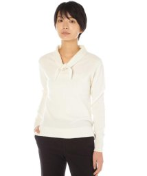 MARGARET HOWELL/NECK TIE JUMPER/500708465