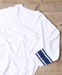 coen/【女性にも人気】USAコットン7分袖フットボールTシャツ/500713501
