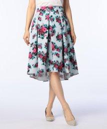 NOLLEY'S/ぼかしフラワープリントスカート/500707072