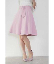 PROPORTION BODY DRESSING/カラーサッシュフレアースカート/500716056