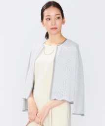 JIYU-KU /シアートリムレースコンビ カーディガン(検索番号A29)/500717335