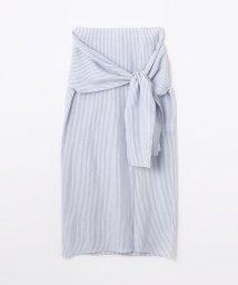 GALERIE VIE/ウォッシュドレーヨン 3-wayシャツスカート/500717633