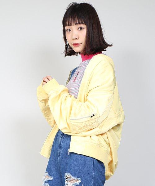 PUNYUS(プニュズ)/ライトビッグMA‐1/PN18SS012
