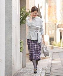 Sylph/【Bonnsylph】パールボタン付きラップタイトスカート/500702319