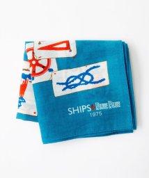 SHIPS WOMEN/SHIPS・BLUE BLUE:コットンクマリン◇/500718716