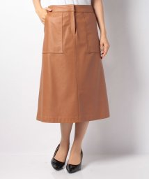 OLD ENGLAND/【セットアップ対応商品】イタリアンラムスカート/10265889N