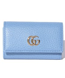 Piccola Donna/【GUCCI】プチ マーモント / キーケース 【CLEAR SKY BLUE】/500705562