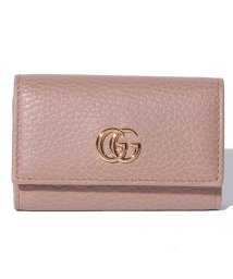 Piccola Donna/【GUCCI】プチ マーモント / キーケース 【PORCELAIN ROSE】/500705563