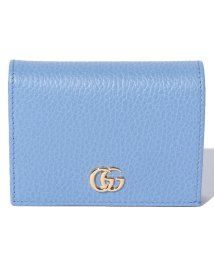 Piccola Donna/【GUCCI】プチ マーモント / コイン&お札入れ ミニウォレット カードケース 【CLEAR SKY BLUE】/500705567