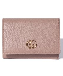 Piccola Donna/【GUCCI】プチ マーモント / カードケース 【PORCELAIN ROSE】/500705574