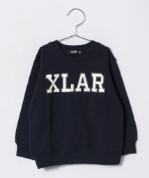 XLARGE KIDS/ロゴ裏毛トレーナー/500706355