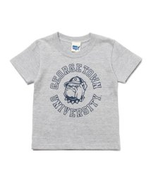 b-ROOM/カレッジロゴプリントTシャツ/500706315