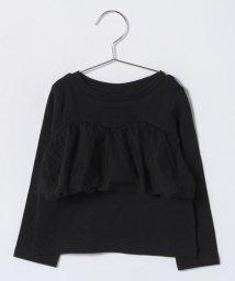 petit main/チュールフリルつきTシャツ/500706334