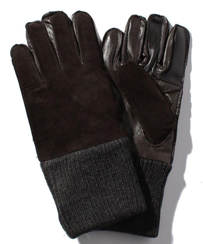 3Dレザー手袋