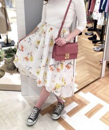 Noela/【セットアップ対応商品】オリジナルドビーフラワー柄スカート/500720146