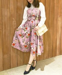Noela/【Ray6月号掲載】【セットアップ対応商品】オリジナルファーブル柄スカート/500720147