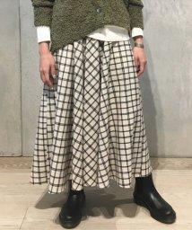 JOURNAL STANDARD/オーバーチェックサーキュラースカート◆/500722743
