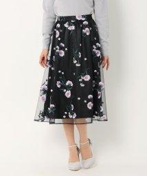 MISCH MASCH/チュール刺繍スカート/500718052