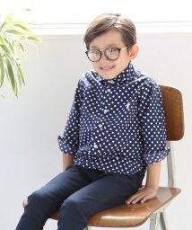 coen/【coen キッズ / ジュニア】ドットカッタウェイシャツ(100〜150cm)/500723349