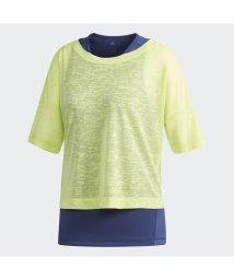 adidas/アディダス/レディス/W M4T レイヤードTシャツ/500724265