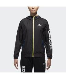 adidas/アディダス/レディス/W TEAM リニアウインドブレーカーフード付ジャケット/500724294