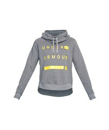 UNDER ARMOUR/アンダーアーマー/レディス/UA FAVORITE FLEECE PO GRAPHIC/500724353