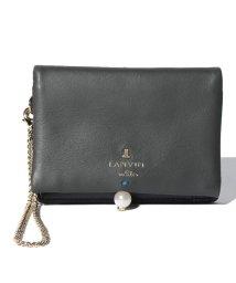 LANVIN en Bleu/シャペルパスケース 480728/LB0004722
