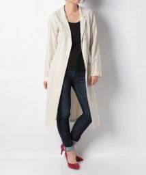 SHIPS WOMEN/【liflattie ships】STRIPE GOWN COAT/500711919