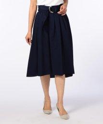 NOLLEY'S/ギャザーフレアサッシュベルト付きスカート/500717682