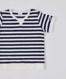 SHIPS KIDS/CHAMPION:パイル 半袖 TEE【SHIPS別注】(145〜160cm)/500724852