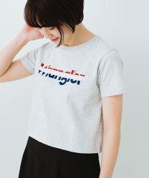 haco!/【mer7月号掲載】Wrangler ロゴがかわいいクロップドTシャツ/500725880