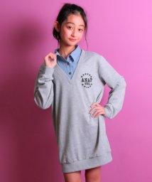 ANAP GiRL/フェイクシャツ付ワンピース/500716753
