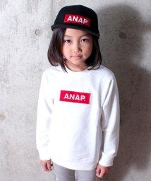 ANAP KIDS/刺しゅうワッペントレーナー/500716769