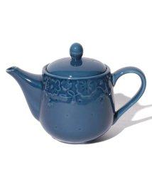 Afternoon Tea LIVING/フラワーレリーフ茶漉し付きポット/500680435