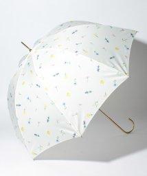 pink trick/BE SUNNY ビーサニー 長傘 【深張り】 ガーデン (晴雨兼用 UV 紫外線カット  耐風 軽量 撥水)/500714747