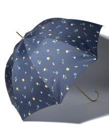 pink trick/BE SUNNY ビーサニー 長傘 【深張り】 ガーデン (晴雨兼用 UV 紫外線カット  耐風 軽量 撥水)/500714749