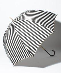 pink trick/BE SUNNY ビーサニー 長傘 【深張り】 ストライプ (晴雨兼用 UV 紫外線カット  耐風 軽量 撥水)/500714752