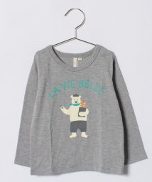LAGOM/ベーカリーベア長袖Tシャツ/500708078