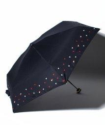 pink trick/BE SUNNY ビーサニー 5段折りたたみ傘 リトルハート (晴雨兼用 UV 紫外線カット  耐風 軽量 撥水)/500714705