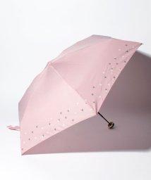 pink trick/BE SUNNY ビーサニー 5段折りたたみ傘 リトルハート (晴雨兼用 UV 紫外線カット  耐風 軽量 撥水)/500714706