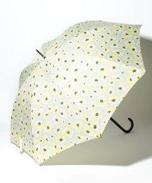 pink trick/BE SUNNY ビーサニー ノーマル長傘 フラワー (晴雨兼用 UV 紫外線カット  耐風 軽量 撥水)/500714720