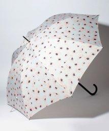 pink trick/BE SUNNY ビーサニー ノーマル長傘 フラワー (晴雨兼用 UV 紫外線カット  耐風 軽量 撥水)/500714721