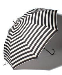 pink trick/BE SUNNY ビーサニー ノーマル長傘 ボーダー (晴雨兼用 UV 紫外線カット 耐風 軽量 撥水)/500714724