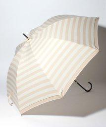 pink trick/BE SUNNY ビーサニー ノーマル長傘 ボーダー (晴雨兼用 UV 紫外線カット 耐風 軽量 撥水)/500714725