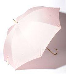 pink trick/BE SUNNY ビーサニー ノーマル長傘 リボンドット (晴雨兼用 UV 紫外線カット  耐風 軽量 撥水)/500714729