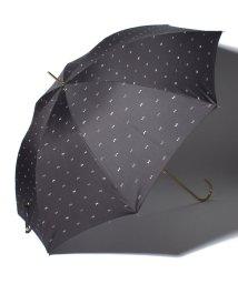 pink trick/BE SUNNY ビーサニー ノーマル長傘 リボンドット (晴雨兼用 UV 紫外線カット  耐風 軽量 撥水)/500714730